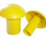RBM REBAR SAFETY CAPS MASHROOM YELLOW
